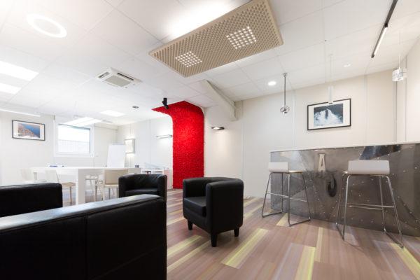 Salle de conférence design | photographie archi bureaux| Lille